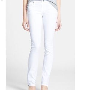 COH Ava Low Rise Straight Leg white Jean
